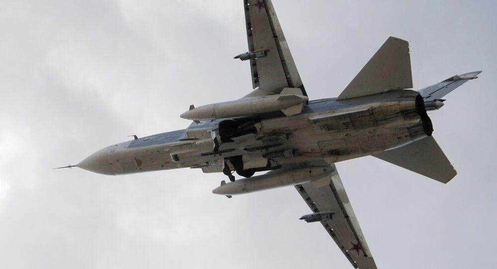 Su-24 ve vzduchu