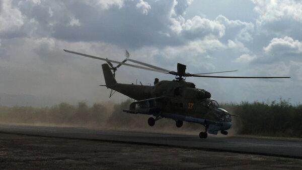 Mi-24 v Sýrii - Sputnik Česká republika