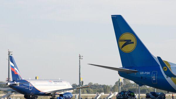 Letiště Borispol v Kyjevě - Sputnik Česká republika