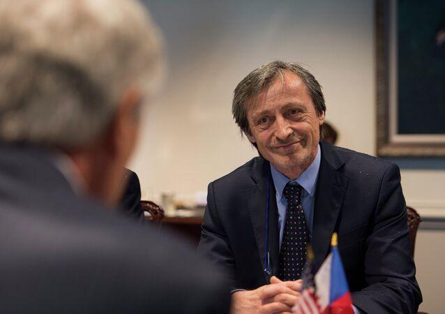 Ministr zahraničí Martin Stropnický