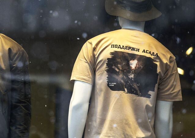 V Rusku začali prodávat trička na podporu Asada