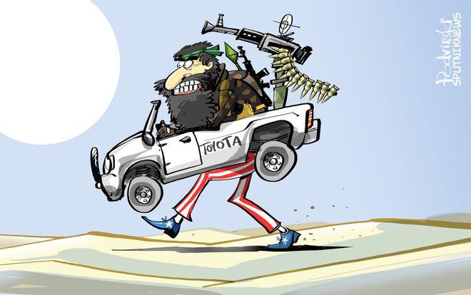 Oblíbené auto bojovniků IS