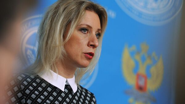 Oficiální mluvčí MZV RF Maria Zacharovová - Sputnik Česká republika