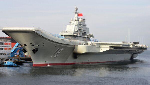 Letadlová loď Liao-ning - Sputnik Česká republika