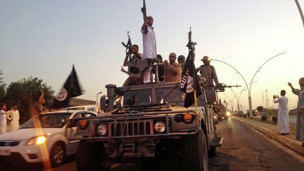 Bojovníci IS v Iráku - Sputnik Česká republika