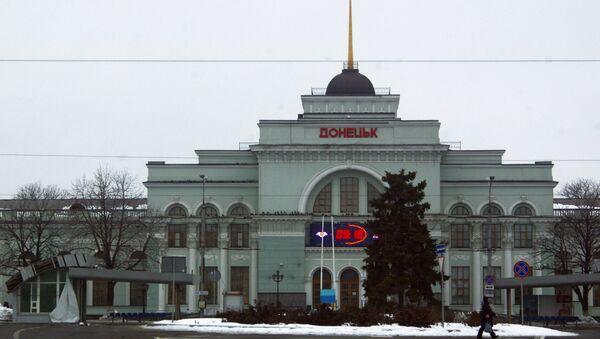 Doněcké nádraží - Sputnik Česká republika