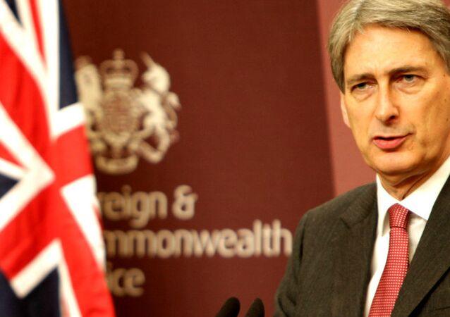 Britský ministr zahraničí Philip Hammond