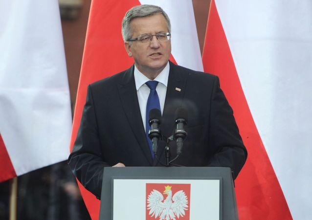 Polský prezident Bronisław Komorowski