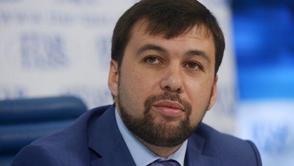 Vice-předseda Národní rady DLR Denis Pušilin - Sputnik Česká republika