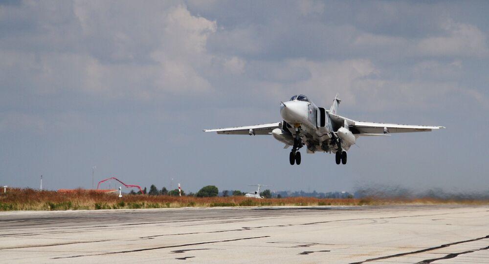 Su-24 v Sýrii