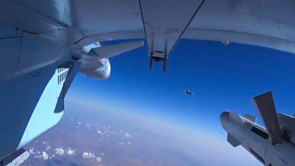 Letecké útoky ruského letectva v Sýrii - Sputnik Česká republika