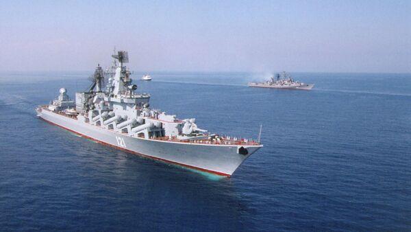 Vojenské lodě Ruska - Sputnik Česká republika