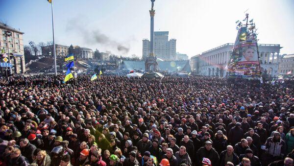 Majdan v roce 2014. Ilustrační foto - Sputnik Česká republika