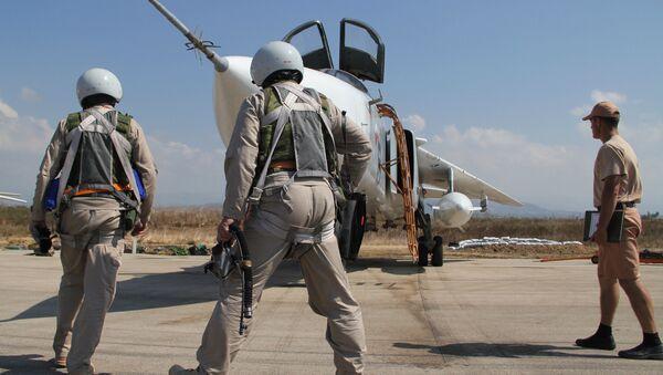 Ruské letectvo v Sýrii - Sputnik Česká republika