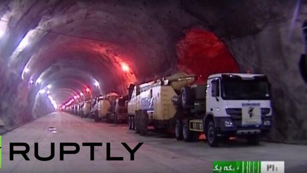 Írán: tajná podzemní základna - Sputnik Česká republika