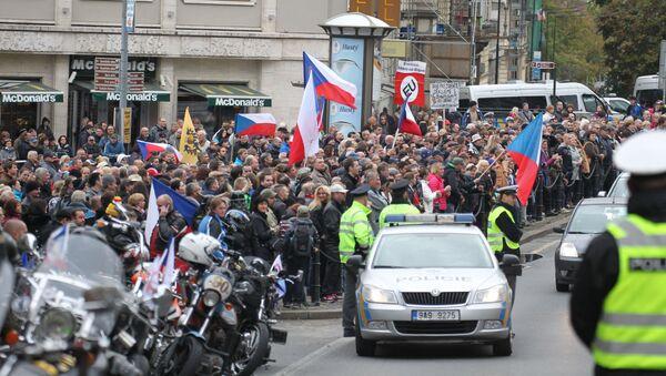 Mítink v Praze - Sputnik Česká republika