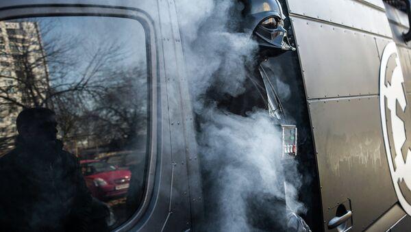 Ukrajinský Darth Vader - Sputnik Česká republika