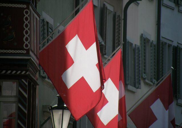Švýcarská vlajka