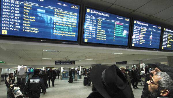 Letiště Borispol - Sputnik Česká republika