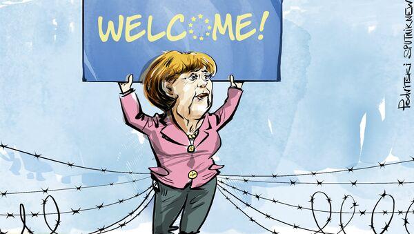 Tajný plán Merkelové - Sputnik Česká republika
