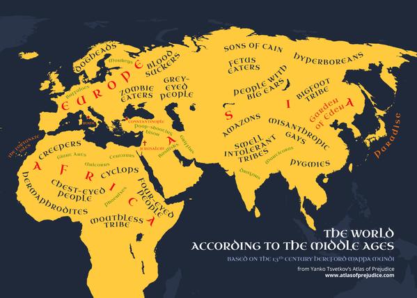 Zábavné politicky nekorektní mapy světa - Sputnik Česká republika