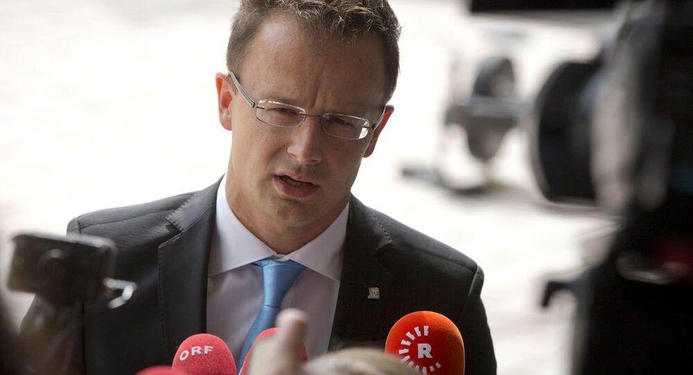 Maďarský ministr zahraničních věcí Péter Szijjártó