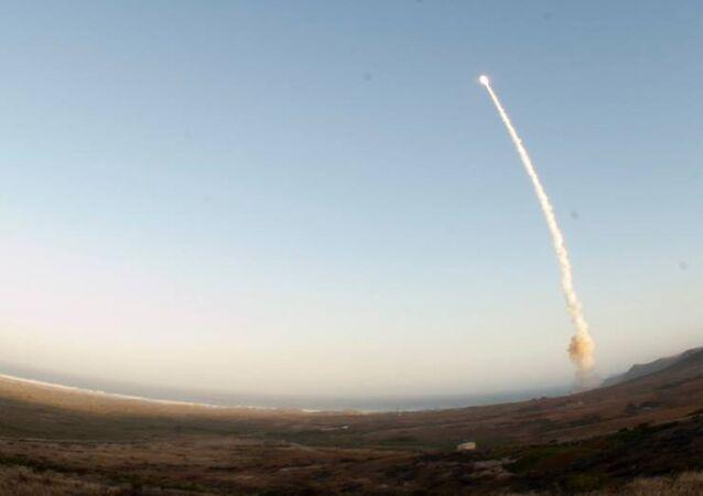 Zkouška mezikontinentální balistické rakety Minuteman III