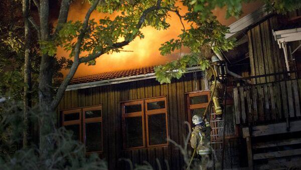 Požár školy ve Švédsku - Sputnik Česká republika