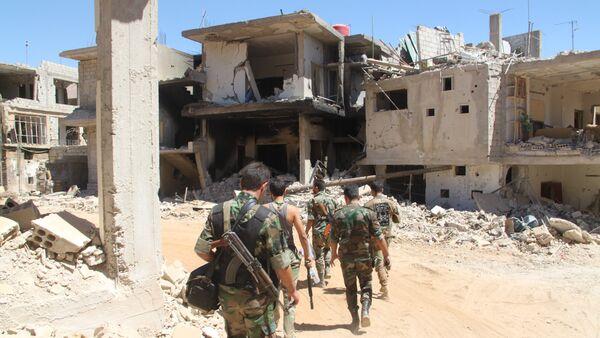 Syrská armáda - Sputnik Česká republika