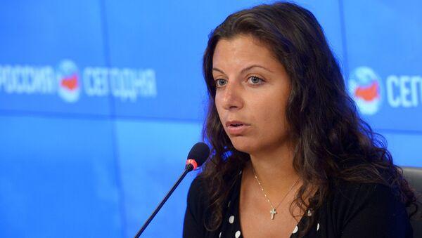 Šéfredaktorka MIA Rossia Segodnia Margarita Simoňanová - Sputnik Česká republika