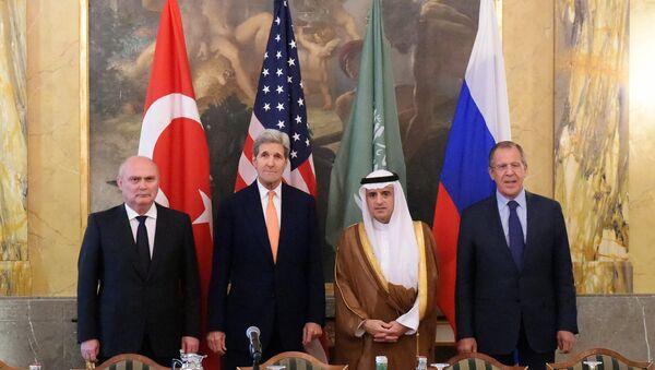 Účastníci jednání o Sýrii ve Vídni - Sputnik Česká republika
