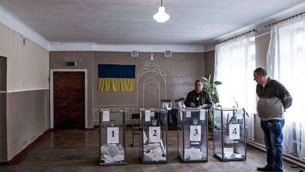 Místní volby na Ukrajině - Sputnik Česká republika