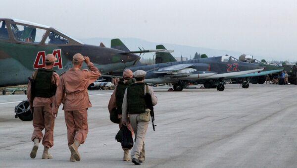 Ruská základna Hmeimim v Sýrii - Sputnik Česká republika
