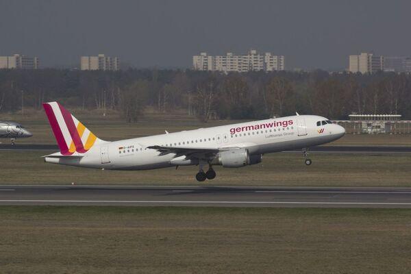 Airbus A320 společnosti Germanwings - Sputnik Česká republika