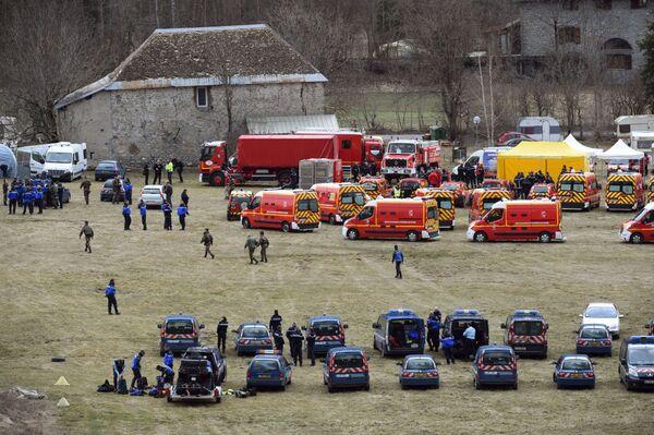 Na místě neštěstí už zasahují záchranáři - Sputnik Česká republika