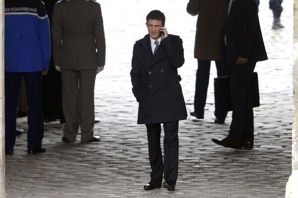 Francouzský premiér Manuel Valls - Sputnik Česká republika