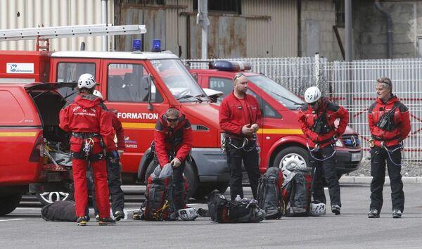 Francouzští hasiči - Sputnik Česká republika