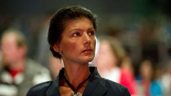 Sara Wagenknechtová - Sputnik Česká republika