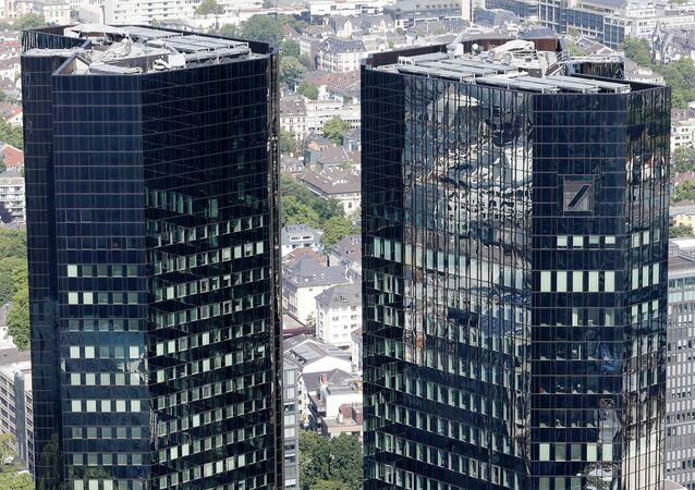 Hlavní sídlo Deutsche Bank
