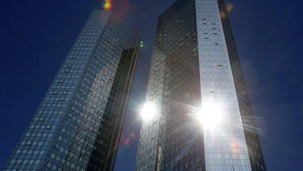 Deutsche Bank, hlavní stan. - Sputnik Česká republika