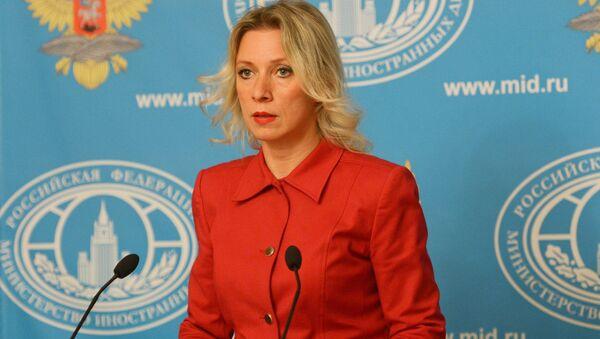 Oficiální zástupce MZV RF Maria Zacharovová - Sputnik Česká republika