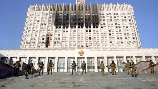 Útok na Dům Sovětů, rok 1993 - Sputnik Česká republika