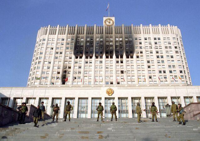 Útok na Dům Sovětů, rok 1993