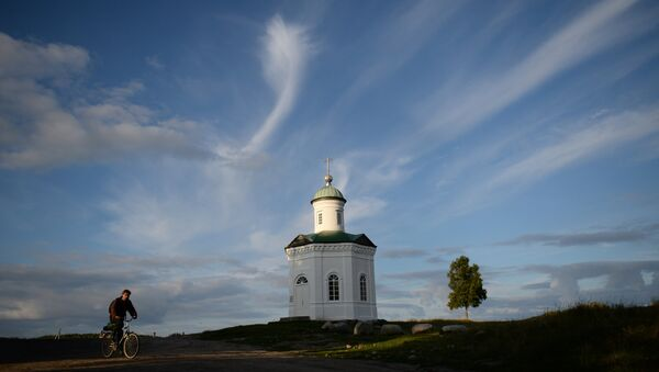Kaple sv. Konstantina na ostrově Solovecký - Sputnik Česká republika