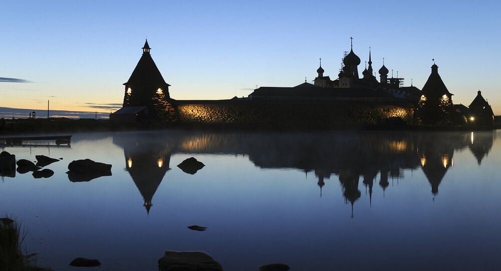 Ruská pravoslavná církev obnovila klášter v roce 1992