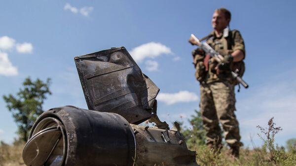 Ukrajinský voják - Sputnik Česká republika