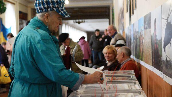 Volby na Ukrajině - Sputnik Česká republika