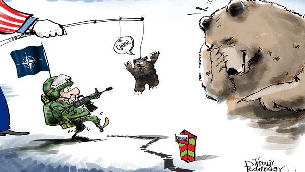 Kdo rád hraje s medvědem? - Sputnik Česká republika