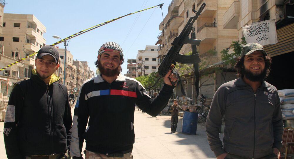 Příslušníci Syrské svobodné armády