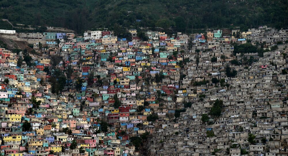 Hlavní město Haiti Port-au-Prince.